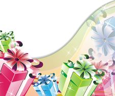 Brilliant Gifts Royalty Free Stock Image