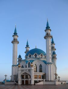 Free Mosque Kul Sharif In Kazan Kremlin Stock Image - 17079891