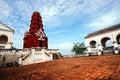 Free Red Thai Temle Royalty Free Stock Image - 17080936