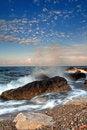 Free Dawn Sky Sea Of Silence Stock Photography - 17087082