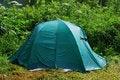 Free Wet Tourist Tent Stock Photos - 17088163