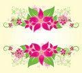 Free Summer Floral Frame Stock Images - 17088864