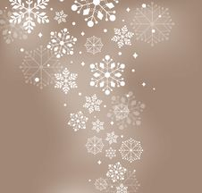 Free Abstract Snow Background Royalty Free Stock Images - 17080719
