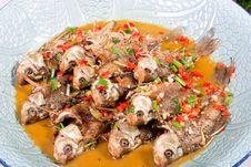 Free Delicious Sauté Fish Stock Images - 17081244