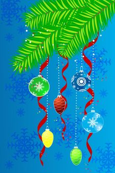 Free Christmas Background Royalty Free Stock Photography - 17081787