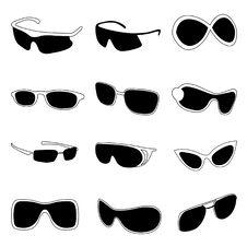 Free Fashion Glasses Stock Images - 17082404
