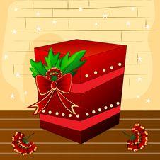 Free Christmas Gift Royalty Free Stock Photo - 17082425