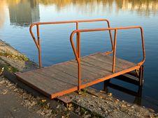 Free Autumn Lake View Royalty Free Stock Photos - 17082618