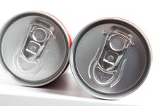 Free Cans Filled With Soda Stock Photography - 17082812