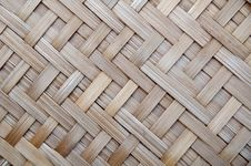 Free Bamboo Hand Made Texture Royalty Free Stock Photo - 17082995