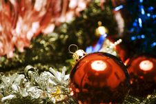 Free Christmas And New Year Decorations Stock Photos - 17083013