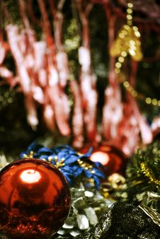 Free Christmas And New Year Decorations Royalty Free Stock Photography - 17083027