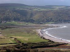 Free View Over Porlock Bay In Exmoor Royalty Free Stock Photos - 17083508