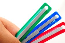 Free Paper Clip Royalty Free Stock Photos - 17083598