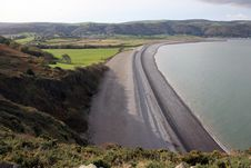 Free View Over Porlock Bay In Exmoor Royalty Free Stock Image - 17083616