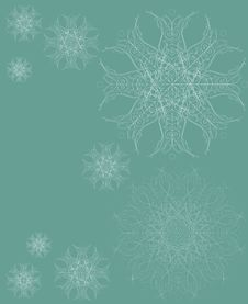 Free Christmas Snowflakes Stock Photography - 17087582