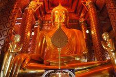 Free Big Buddha Royalty Free Stock Image - 17087796