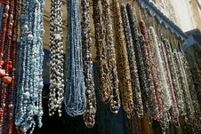 Free Traditional Moroccan Necklaces Royalty Free Stock Photo - 17087915