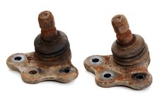 Free Rusty Spare Part Of The Car Royalty Free Stock Photography - 17088337