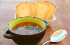 Free Vegetable Soup Stock Image - 17088591