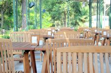 Free Wooden Chairs And Tables Stock Photos - 17088653