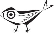 Free Stylized Bird Silhouette Stock Photos - 17088903