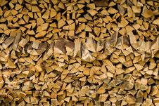 Free Stack Of Firewood. Royalty Free Stock Images - 17089729