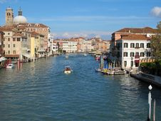 Free Venice  S Grand Canal Stock Photo - 17089780