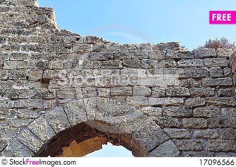 Free Stone Entryway Royalty Free Stock Image - 17096566