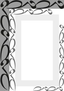 Ornament Frame Illustration Stock Photography