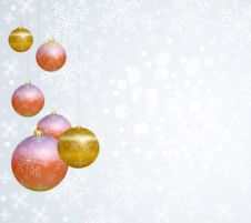 Free Christmas Bauble Royalty Free Stock Images - 17090819