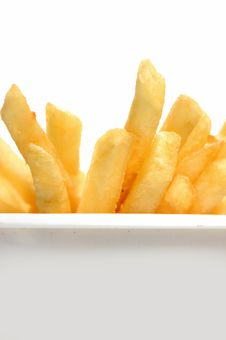 Free French Fries Royalty Free Stock Photos - 17090928