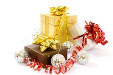 Free Christmas Gifts Stock Photos - 17091993