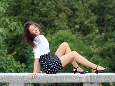 Free Happy Young Woman Enjoying Life Royalty Free Stock Images - 17092589