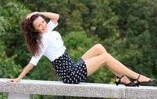 Free Happy Young Woman Enjoying Life Stock Photography - 17092652