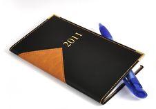 2011 Calendar. Royalty Free Stock Photo