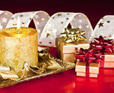 Christmas Decor. Royalty Free Stock Photo