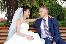Free Bride And Groom Stock Photo - 17093230