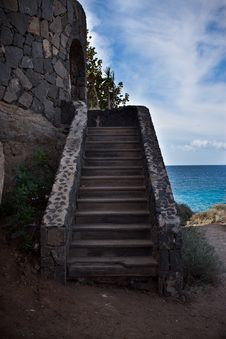 Small Staircase Stock Images