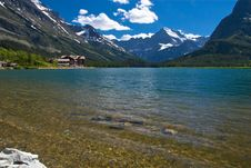 Free Pristine Lake In Rockies Royalty Free Stock Photos - 17093638