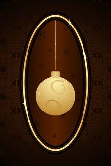 Free Decorative Christmas Frame Royalty Free Stock Image - 17093646