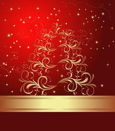Free Abstract Christmas Tree Stock Image - 17093841