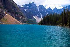 Free Mountain Lake Royalty Free Stock Photo - 17094025