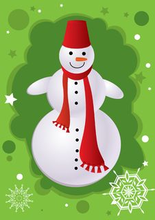 Free Snowman Royalty Free Stock Images - 17094299