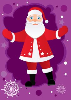 Free Greetings From Santa Stock Images - 17094314