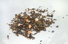 Free Sultan Green Tea Leaf Royalty Free Stock Photos - 17095408