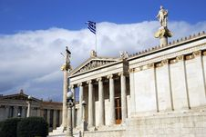 Free The National Academy Of Athens (Greece) Royalty Free Stock Images - 17096529
