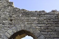 Stone Entryway Royalty Free Stock Image
