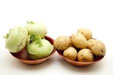 Free Kohlrabi With Potato Stock Photo - 17097120
