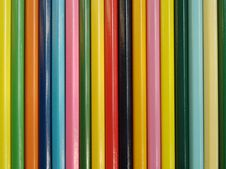 Free The Set Colour Pencils. Royalty Free Stock Photography - 17097307